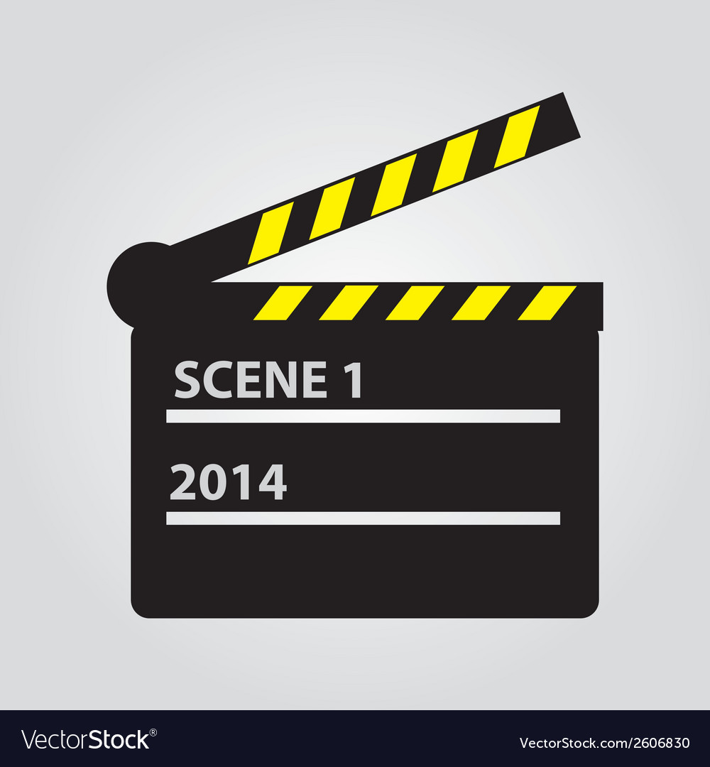 Film flap eps10 vector | Price: 1 Credit (USD $1)