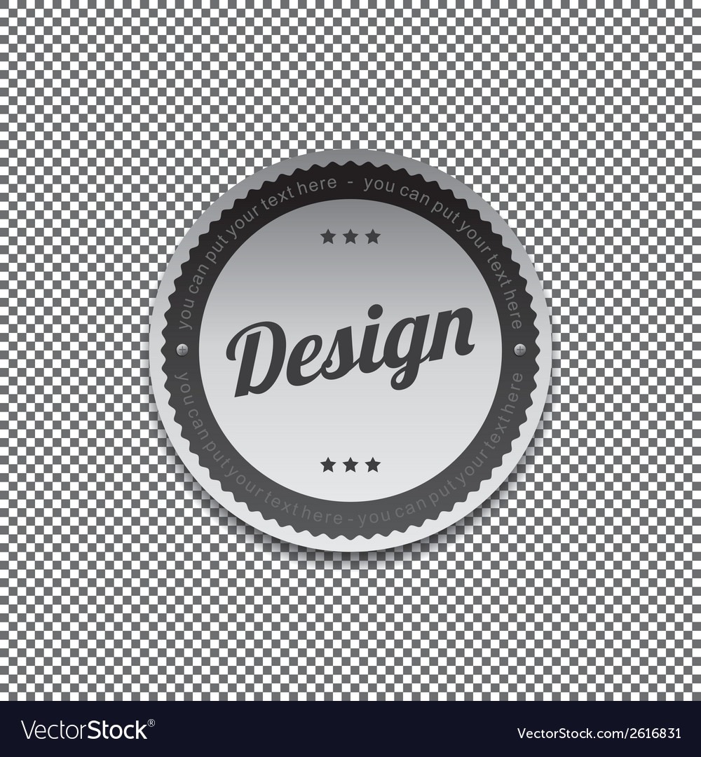 Design label vector | Price: 1 Credit (USD $1)