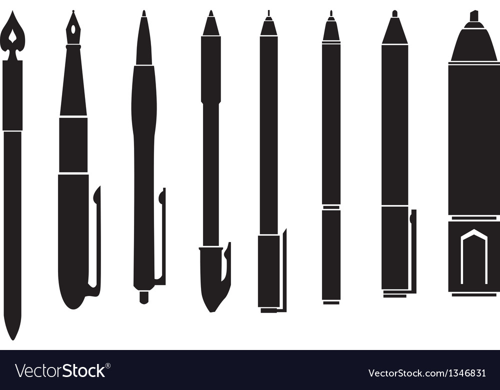 Pen vector | Price: 1 Credit (USD $1)