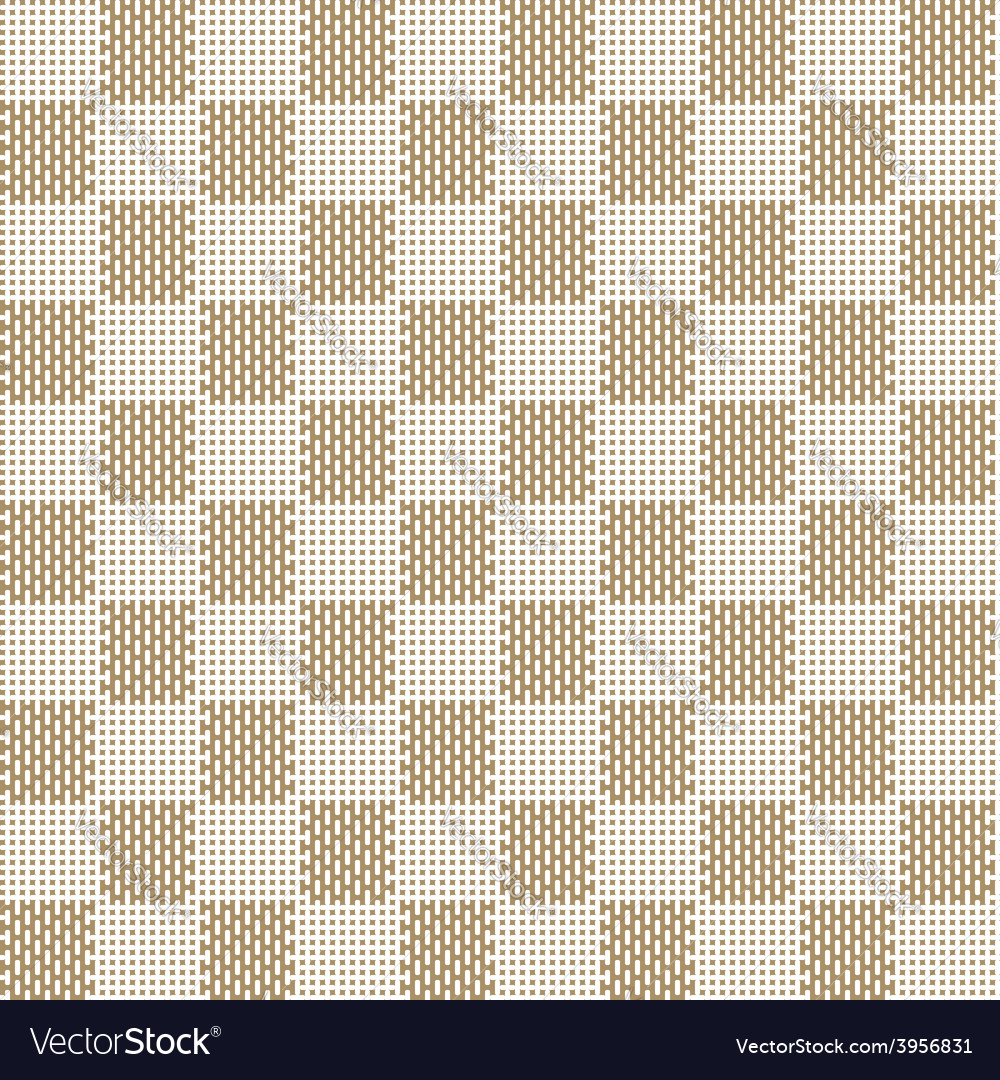 Square beige seamless fabric texture pattern vector | Price: 1 Credit (USD $1)