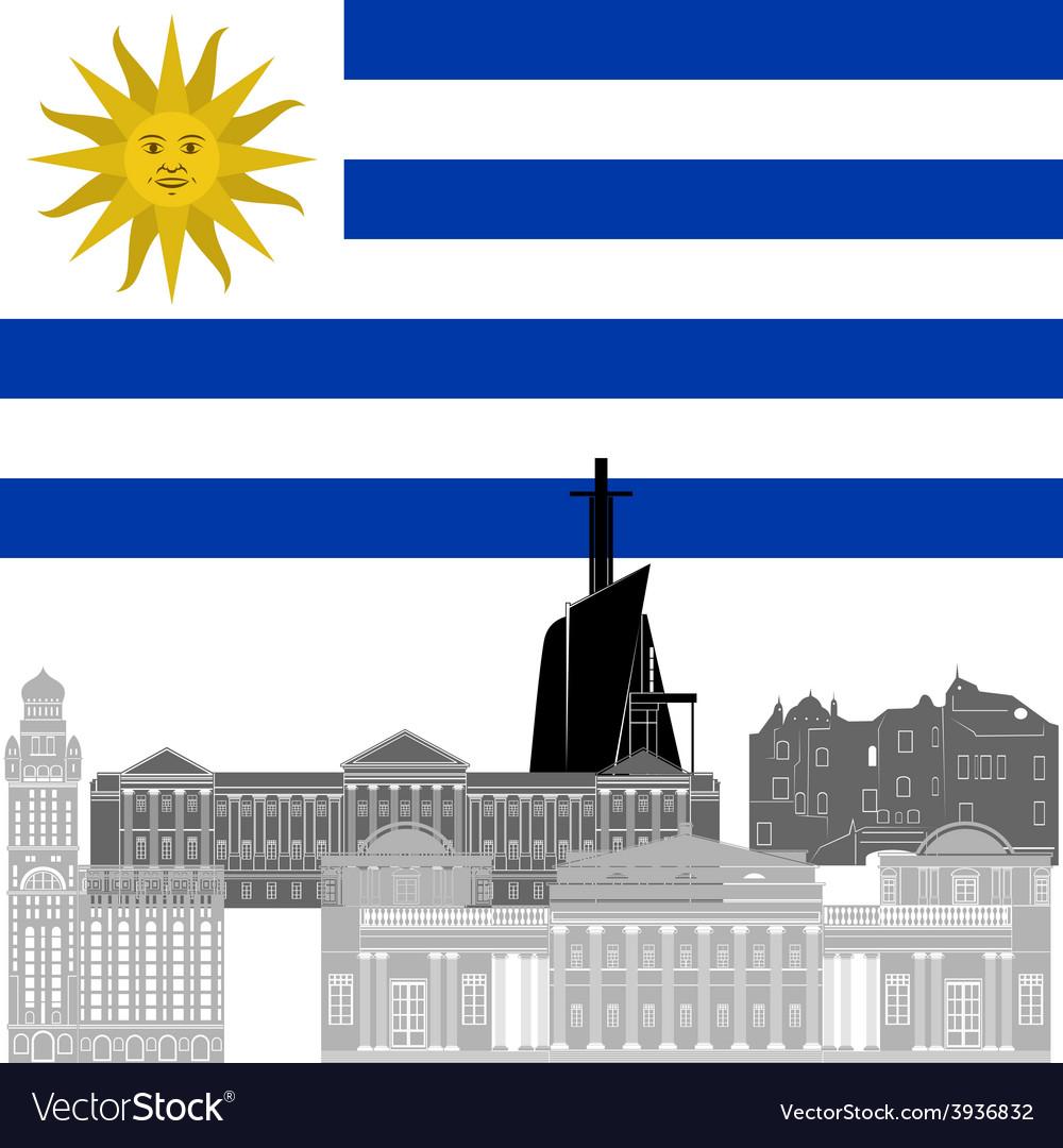 Uruguay vector | Price: 1 Credit (USD $1)