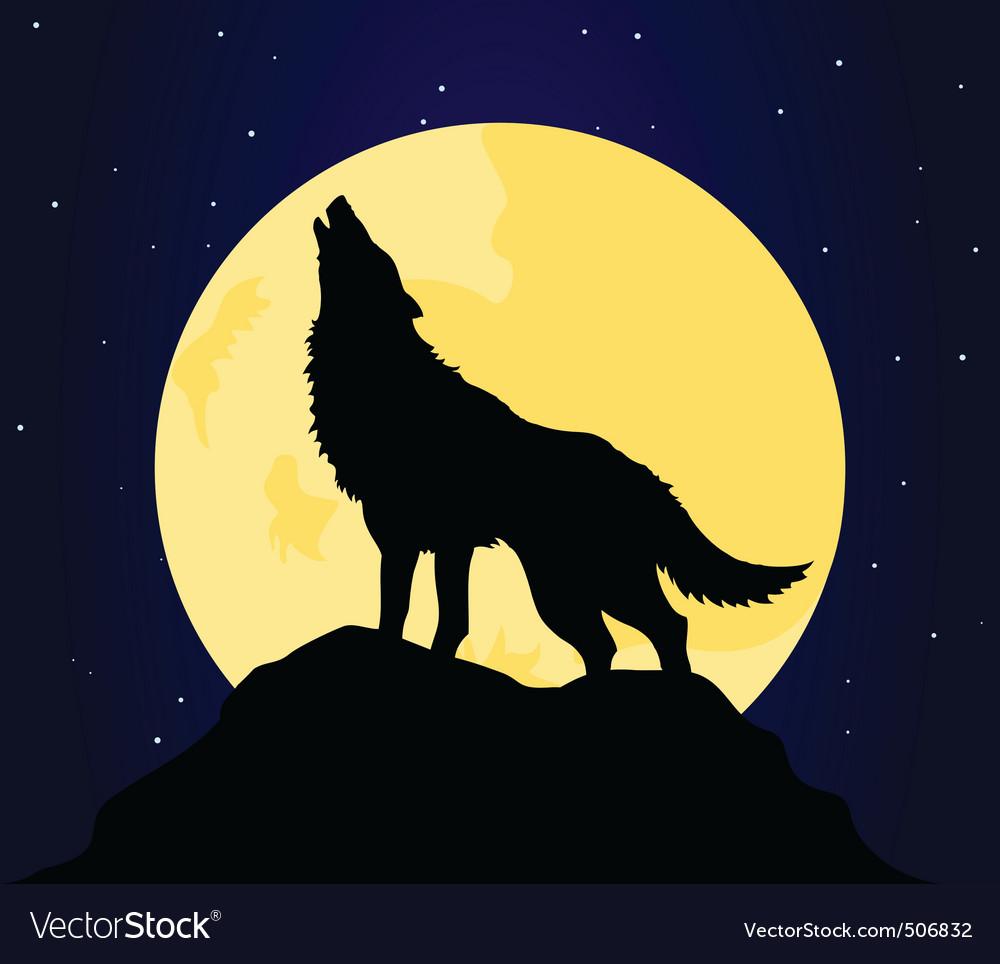Wolf4 vector | Price: 1 Credit (USD $1)