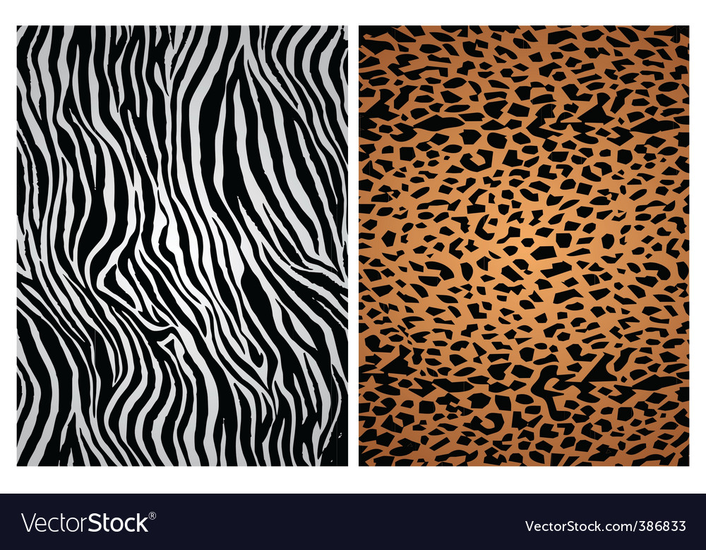 Animal print patterns vector | Price: 1 Credit (USD $1)