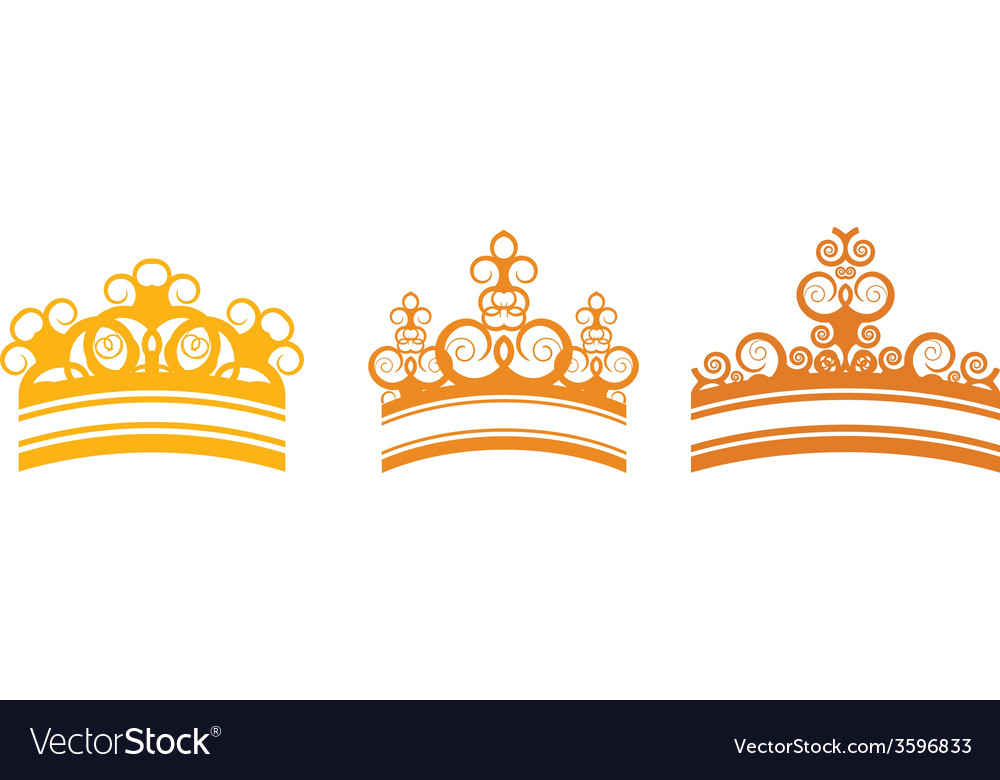 Graphic crown vector | Price: 1 Credit (USD $1)