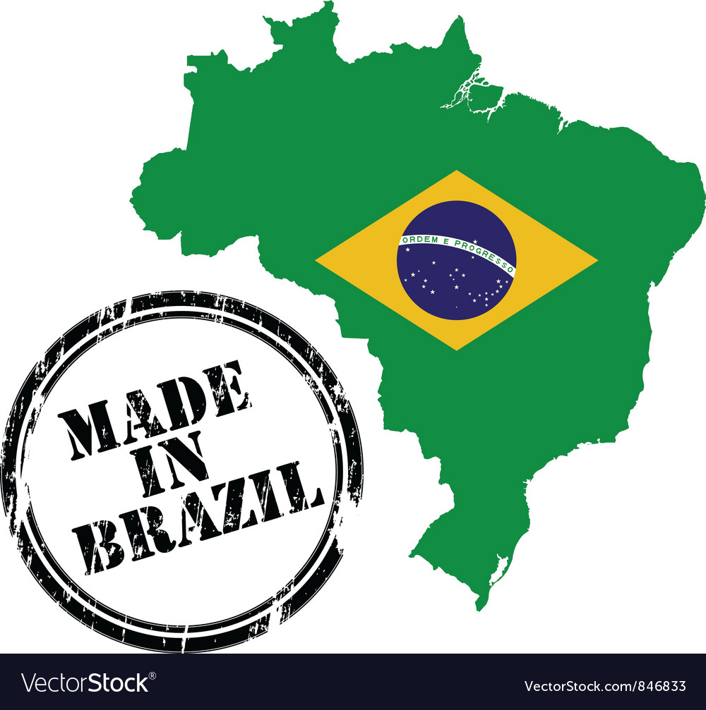 Made in brazil vector | Price: 1 Credit (USD $1)