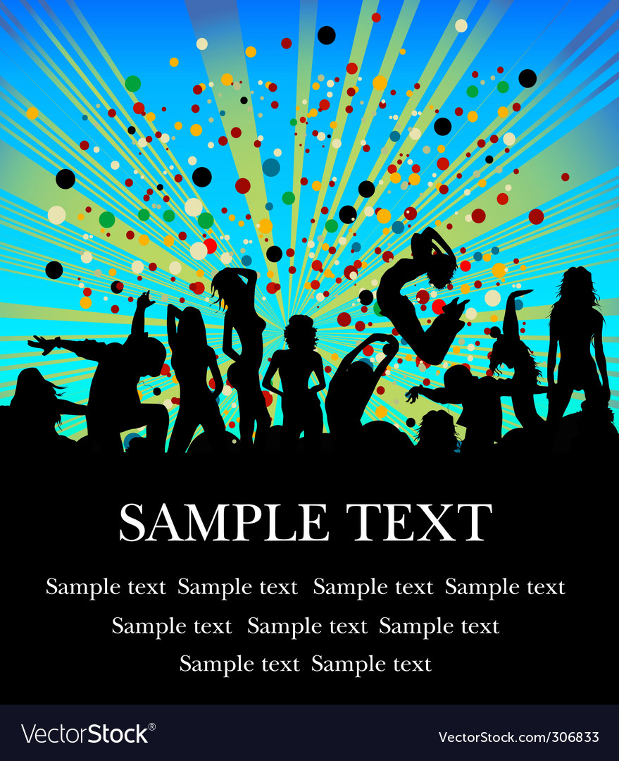 Party flyer vector | Price: 1 Credit (USD $1)