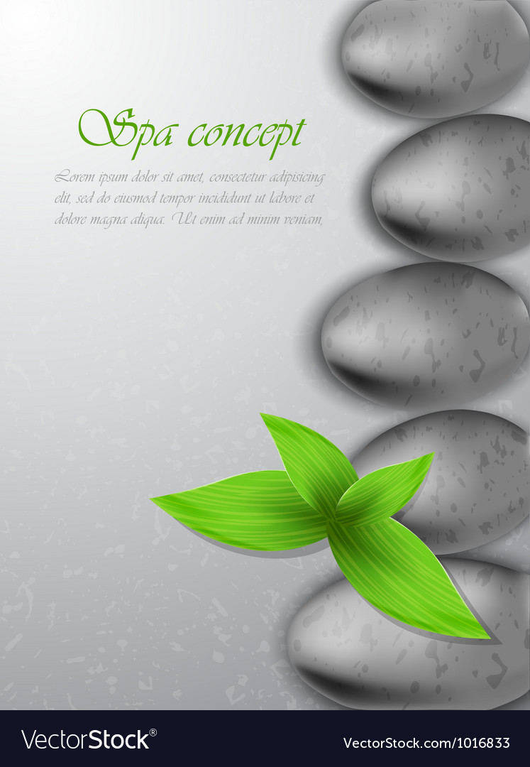 Spa concept vector | Price: 1 Credit (USD $1)