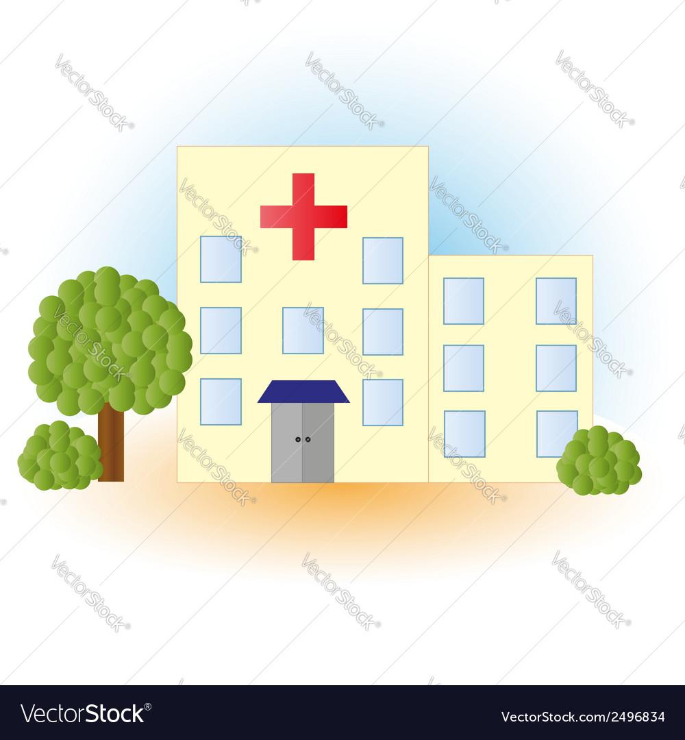 Hospital vector | Price: 1 Credit (USD $1)