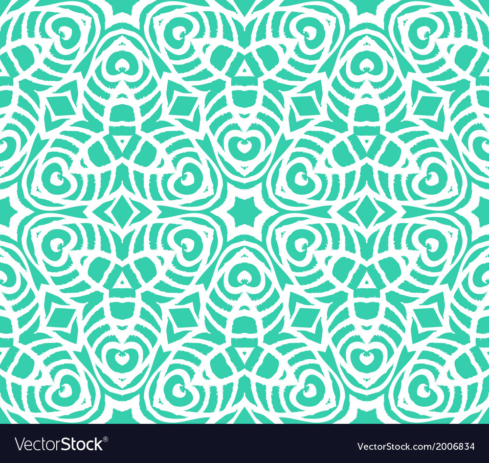 Lace art deco pattern with overlapping shapes vector | Price: 1 Credit (USD $1)