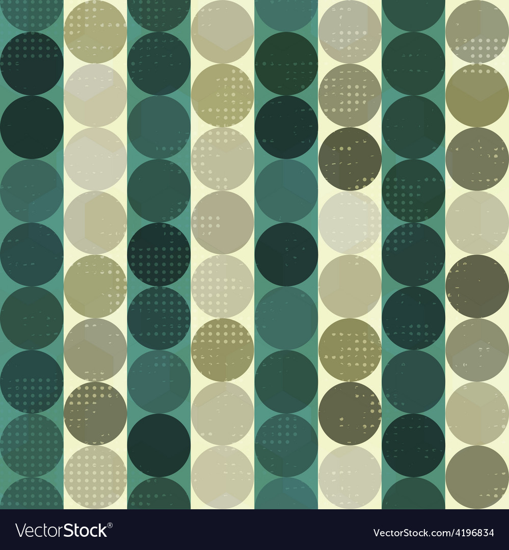 Vintage circle grunge seamles vector | Price: 1 Credit (USD $1)