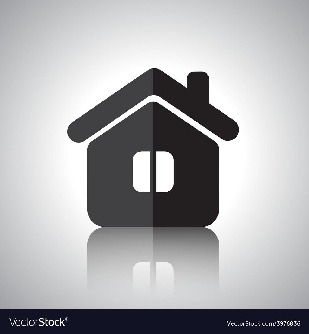 House symbol vector   Price: 1 Credit (USD $1)