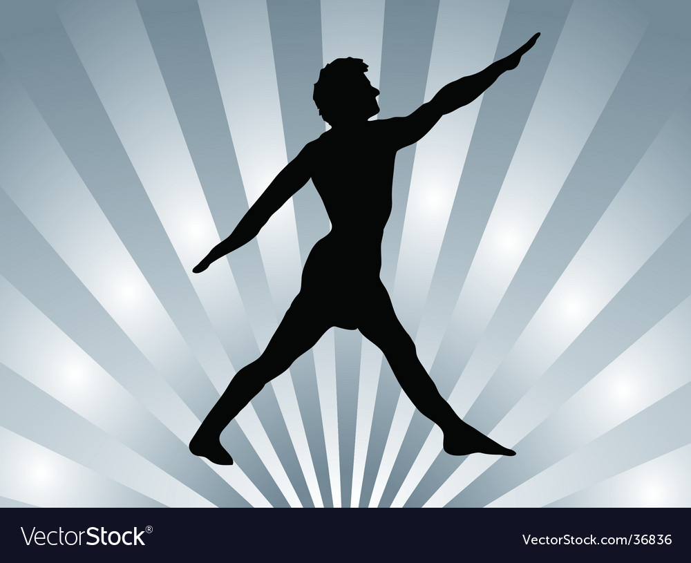 Silver pose vector | Price: 1 Credit (USD $1)