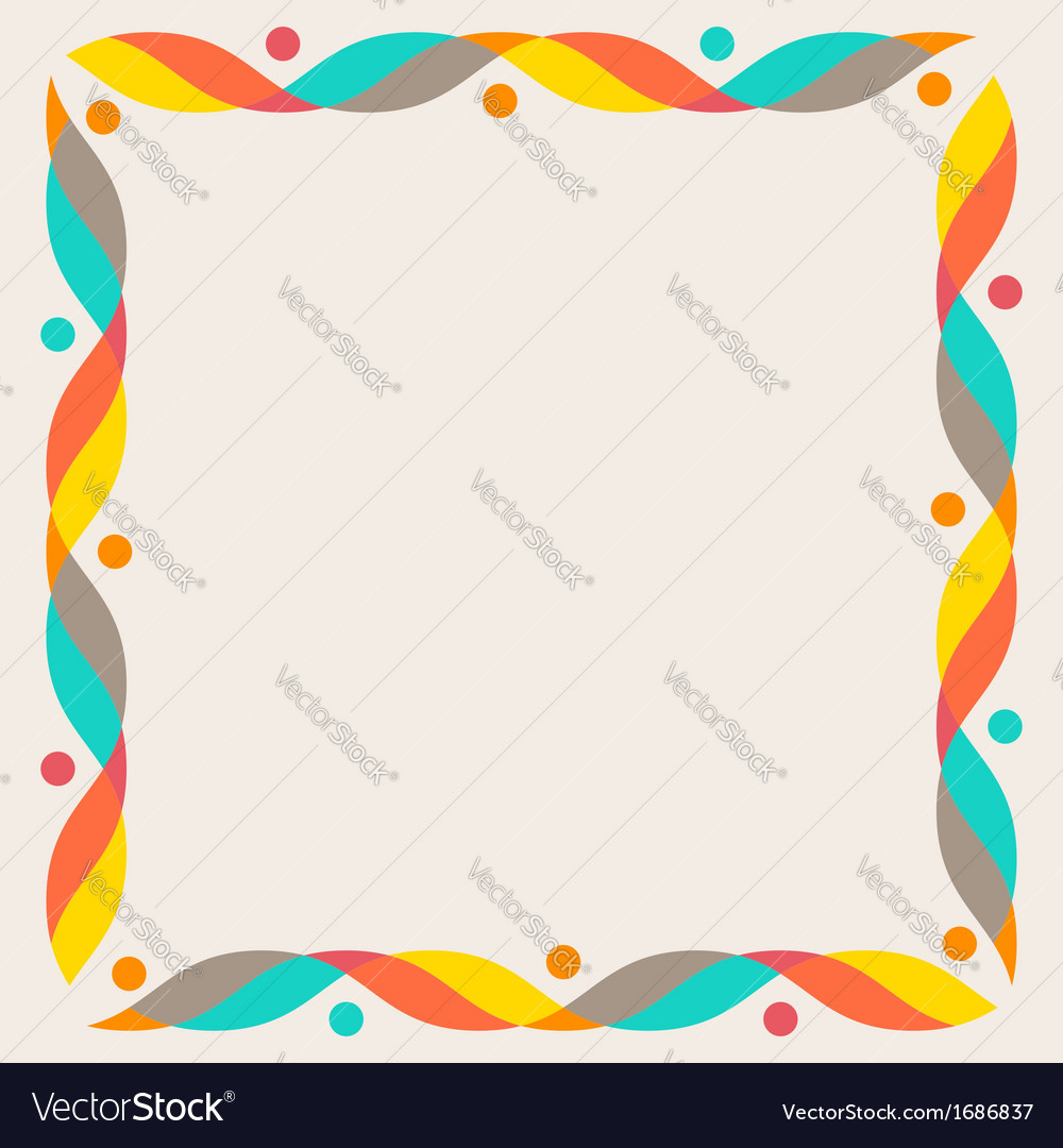 Design elements - colorful waves vector | Price: 1 Credit (USD $1)