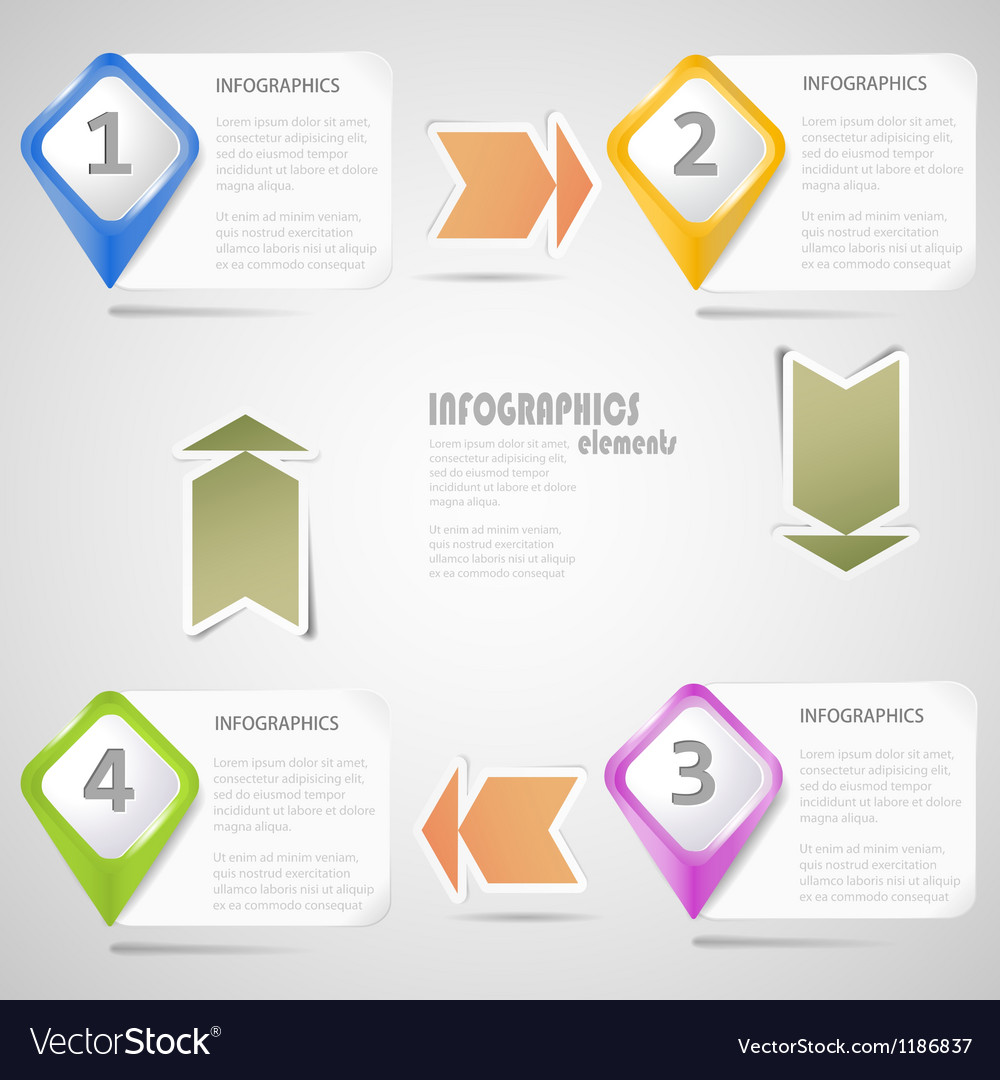 Original infographics elements vector | Price: 1 Credit (USD $1)