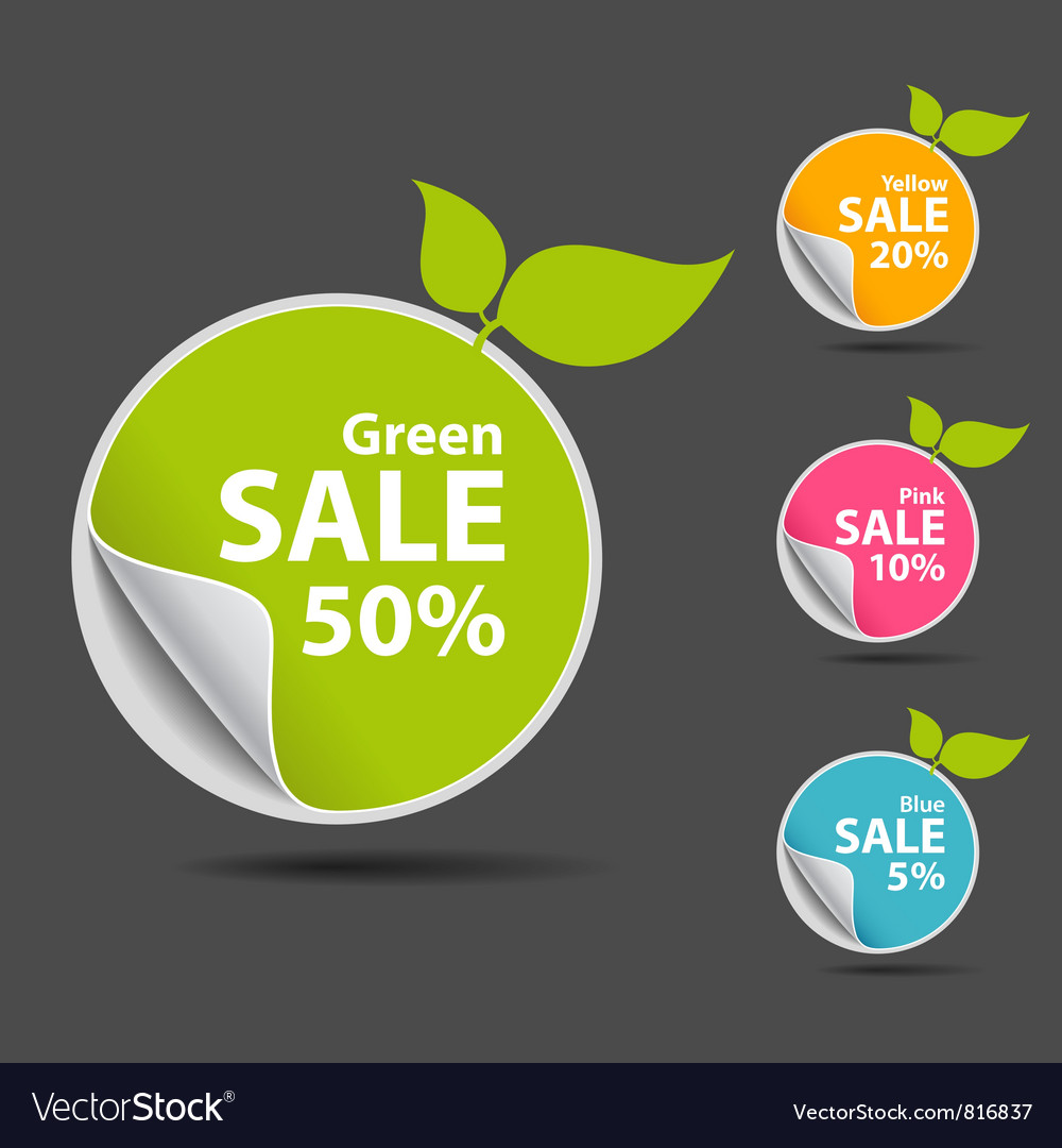 Sticker price tag vector | Price: 1 Credit (USD $1)