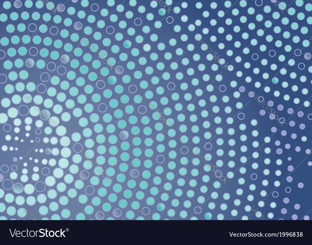 Abstract dotted circle background vector | Price: 1 Credit (USD $1)