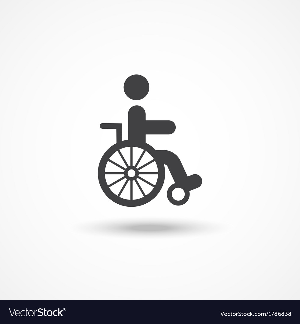 Disabled icon vector | Price: 1 Credit (USD $1)