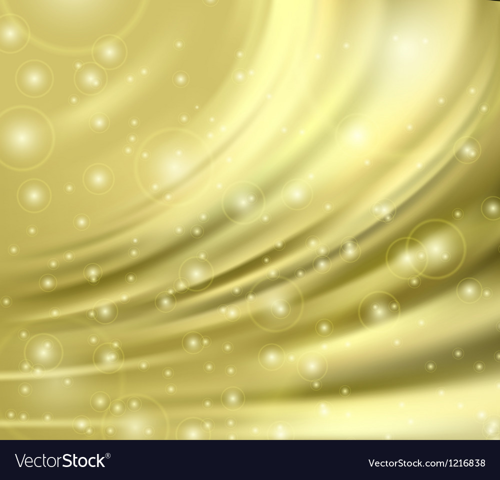 Gold silk backgrounds vector | Price: 1 Credit (USD $1)