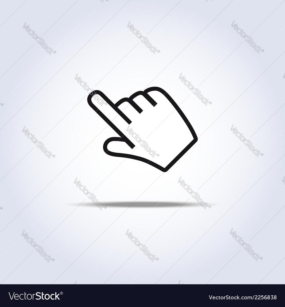 Hand cursor vector   Price: 1 Credit (USD $1)