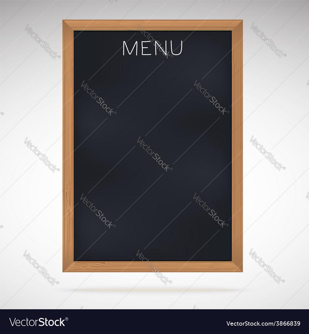 Menu blackboards or chalkboards vector | Price: 1 Credit (USD $1)