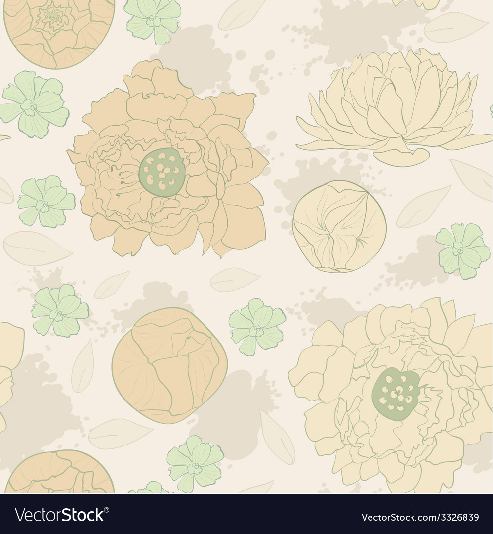Water color flowers vector   Price: 1 Credit (USD $1)