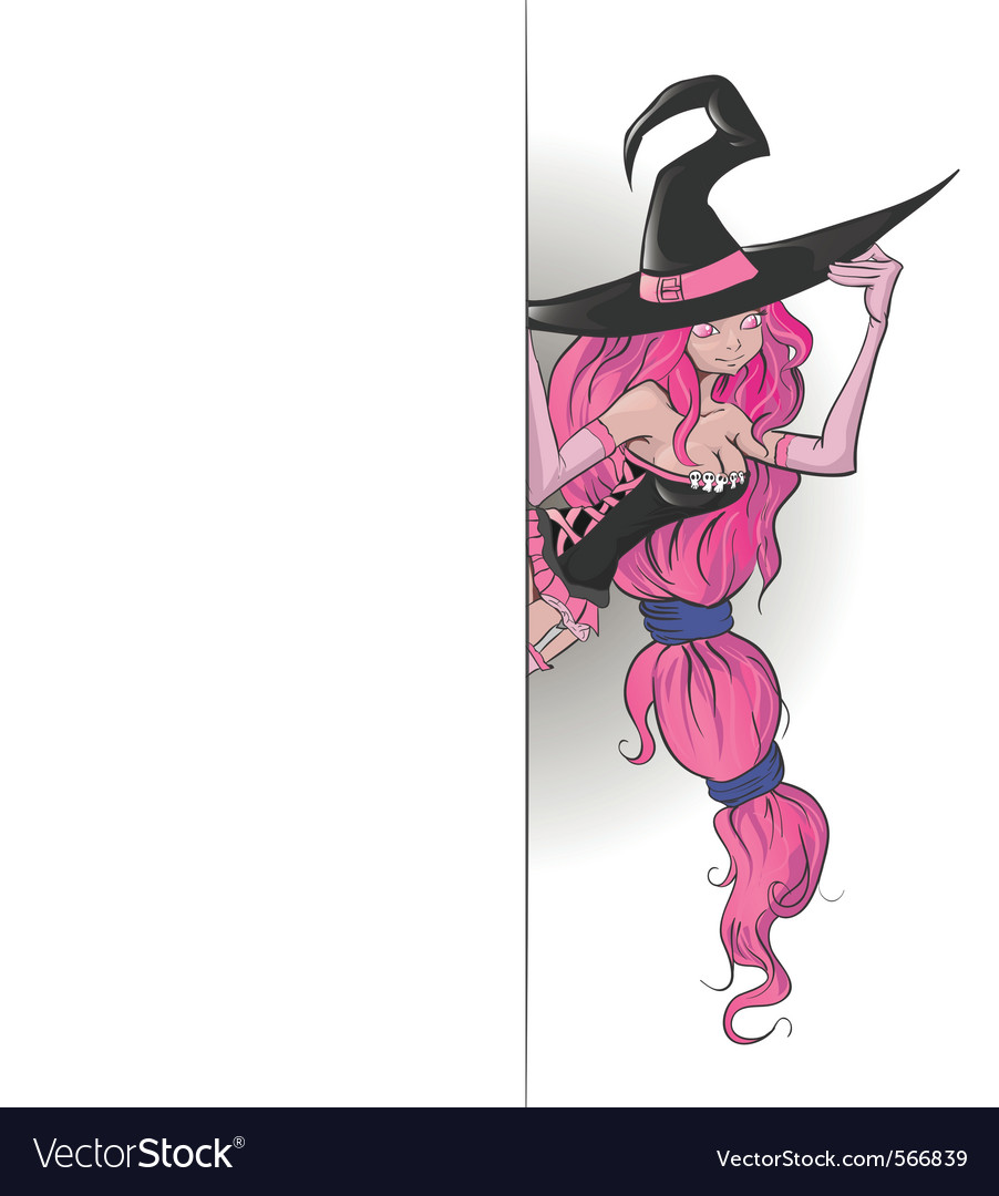 Young witch vector   Price: 1 Credit (USD $1)