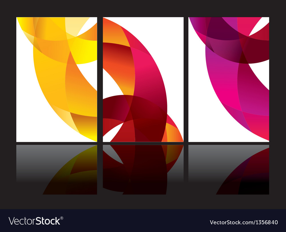 Abstract background set eps10 vector | Price: 1 Credit (USD $1)