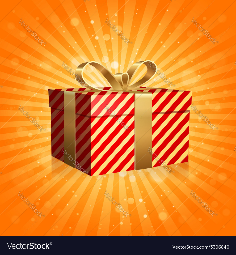 The gift box vector | Price: 1 Credit (USD $1)