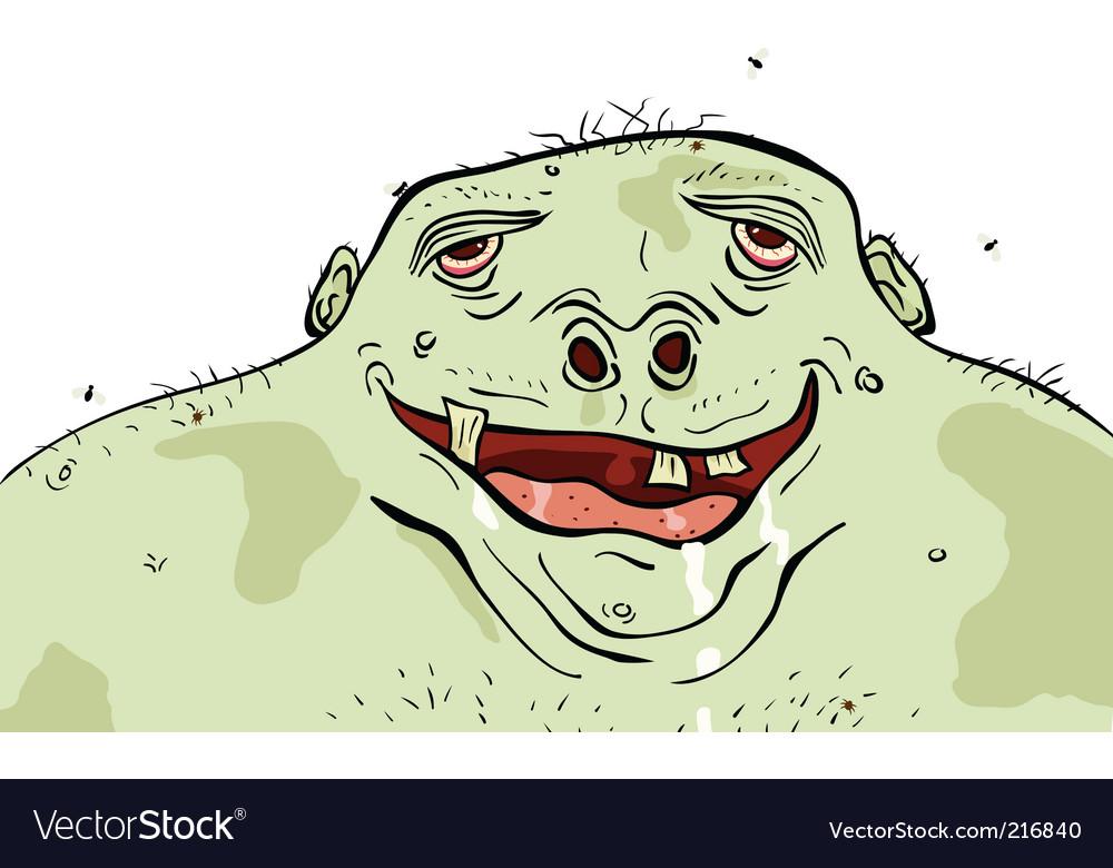 Green man vector | Price: 1 Credit (USD $1)