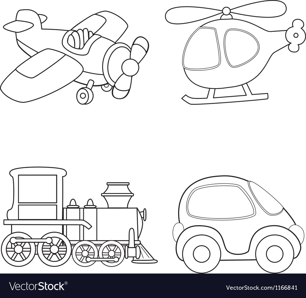 Cartoon transport vector | Price: 1 Credit (USD $1)