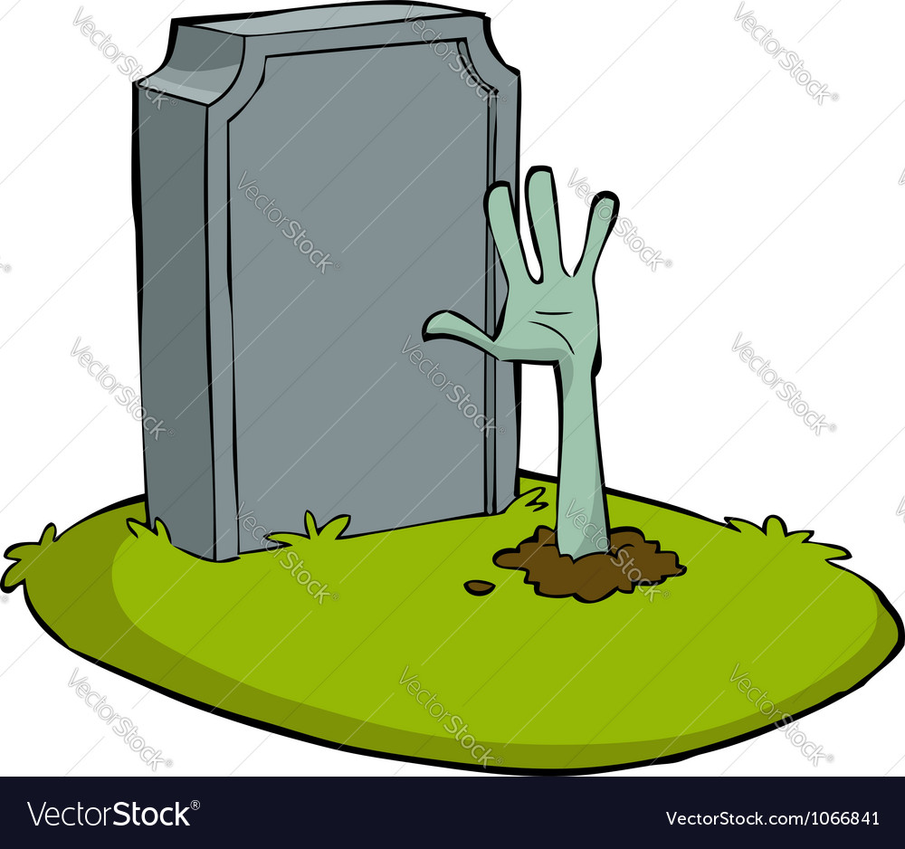 Hand out of the grave vector | Price: 1 Credit (USD $1)