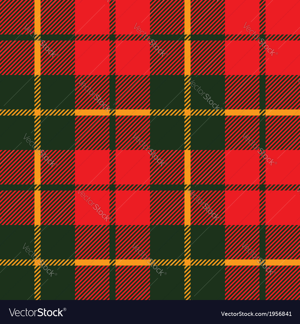 Tartan fabric texture in a square pattern seamless vector | Price: 1 Credit (USD $1)