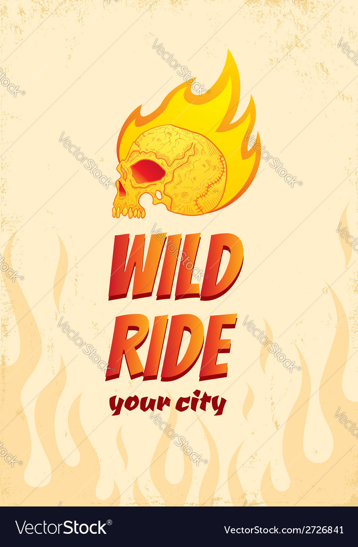 Wild ride vector | Price: 1 Credit (USD $1)