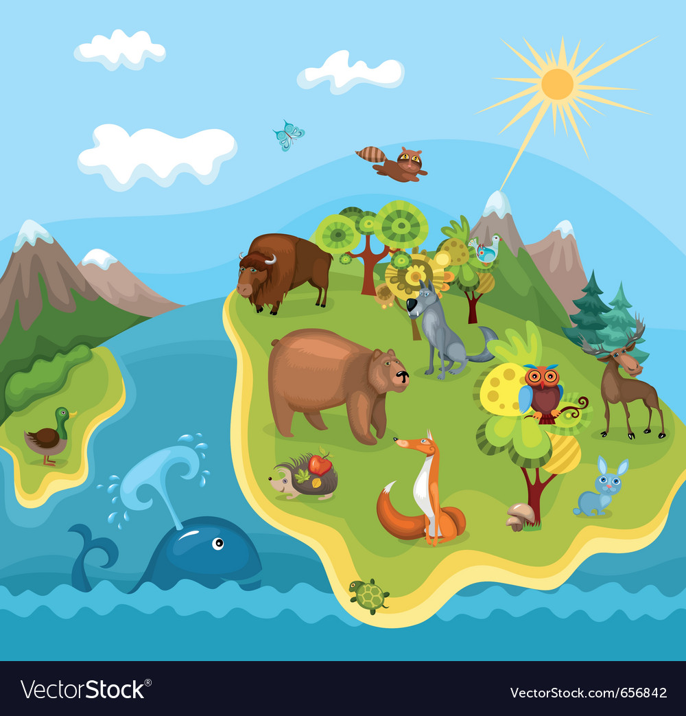 Animal planet vector | Price: 3 Credit (USD $3)