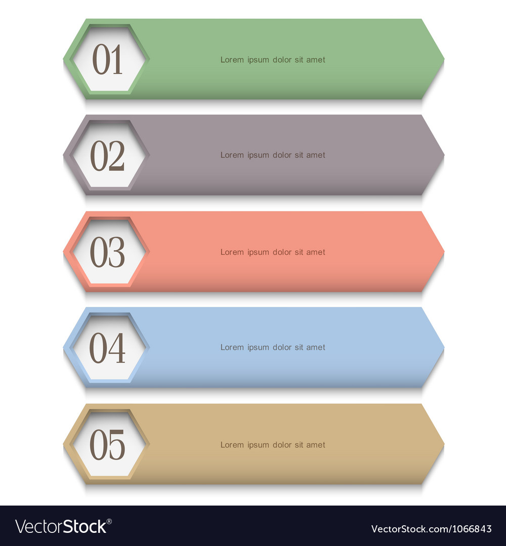 Creative design template in pastel colors vector | Price: 1 Credit (USD $1)