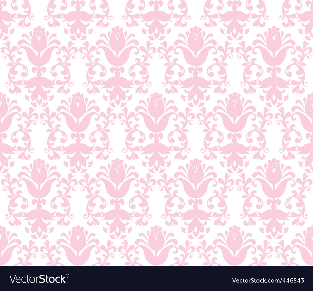 Floral wallpaper background vector | Price: 1 Credit (USD $1)