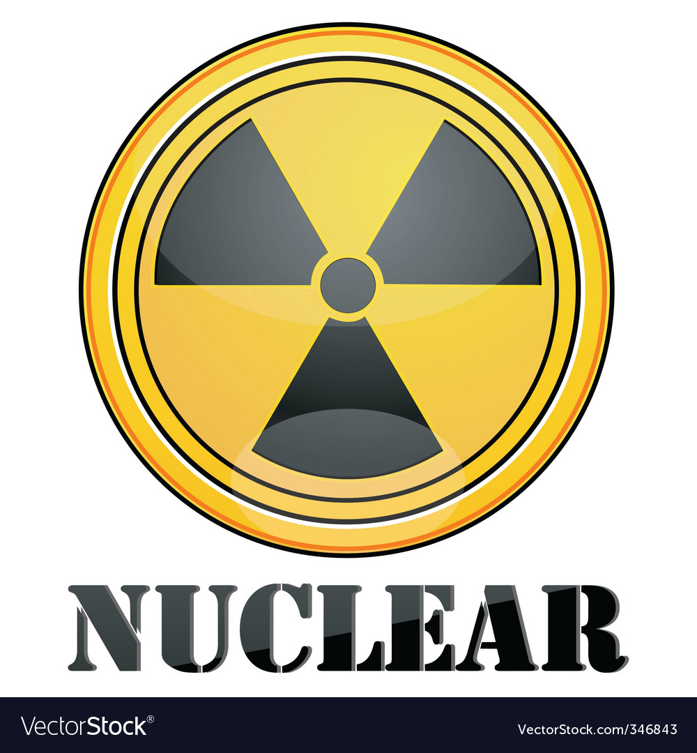 Nuclear symbol vector | Price: 1 Credit (USD $1)