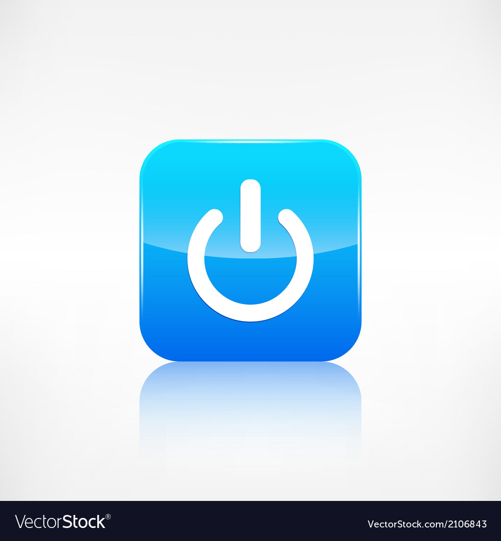 Onoff switch icon application button vector | Price: 1 Credit (USD $1)