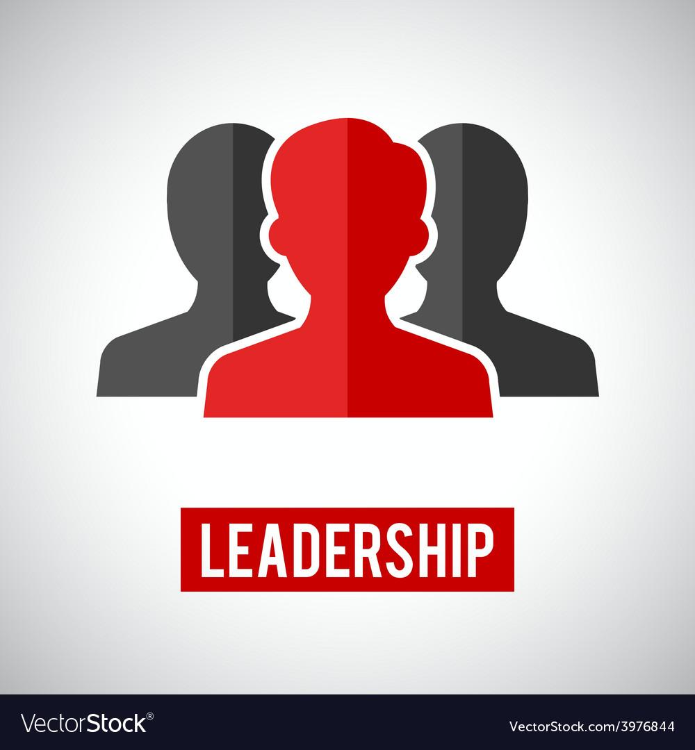Leadership icon vector | Price: 1 Credit (USD $1)
