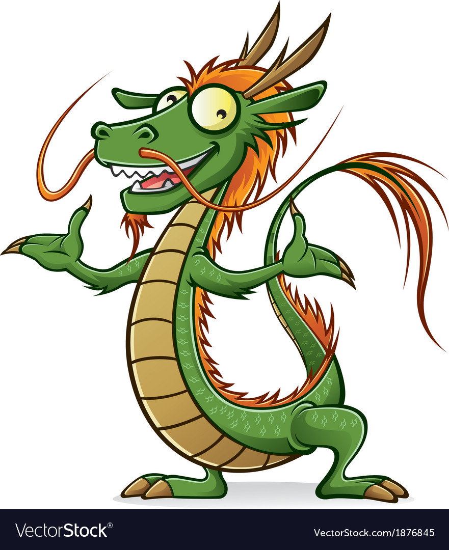 Chinese dragon vector | Price: 3 Credit (USD $3)