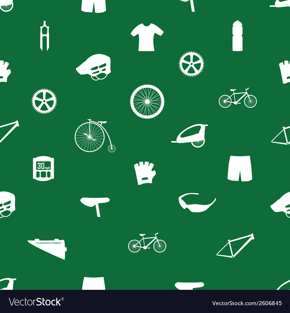 Cycling icon pattern eps10 vector | Price: 1 Credit (USD $1)