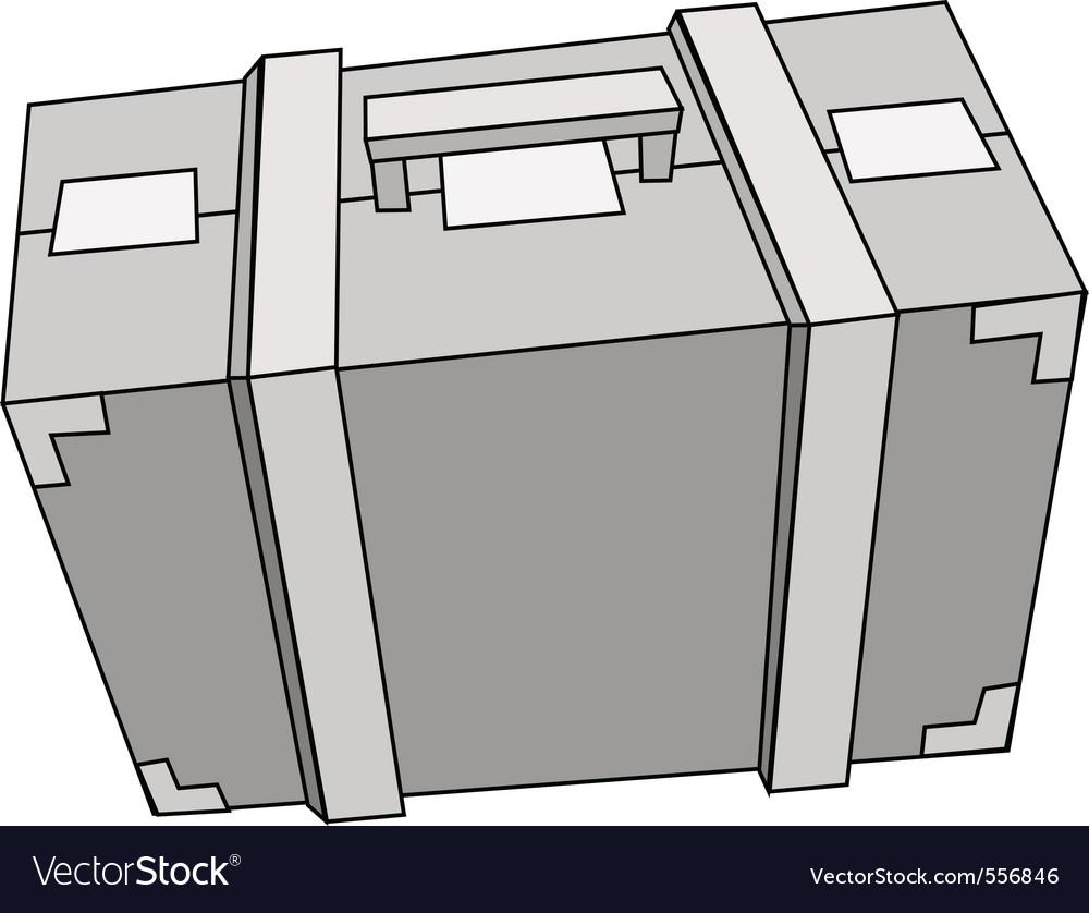 Suitcase steel vector | Price: 1 Credit (USD $1)