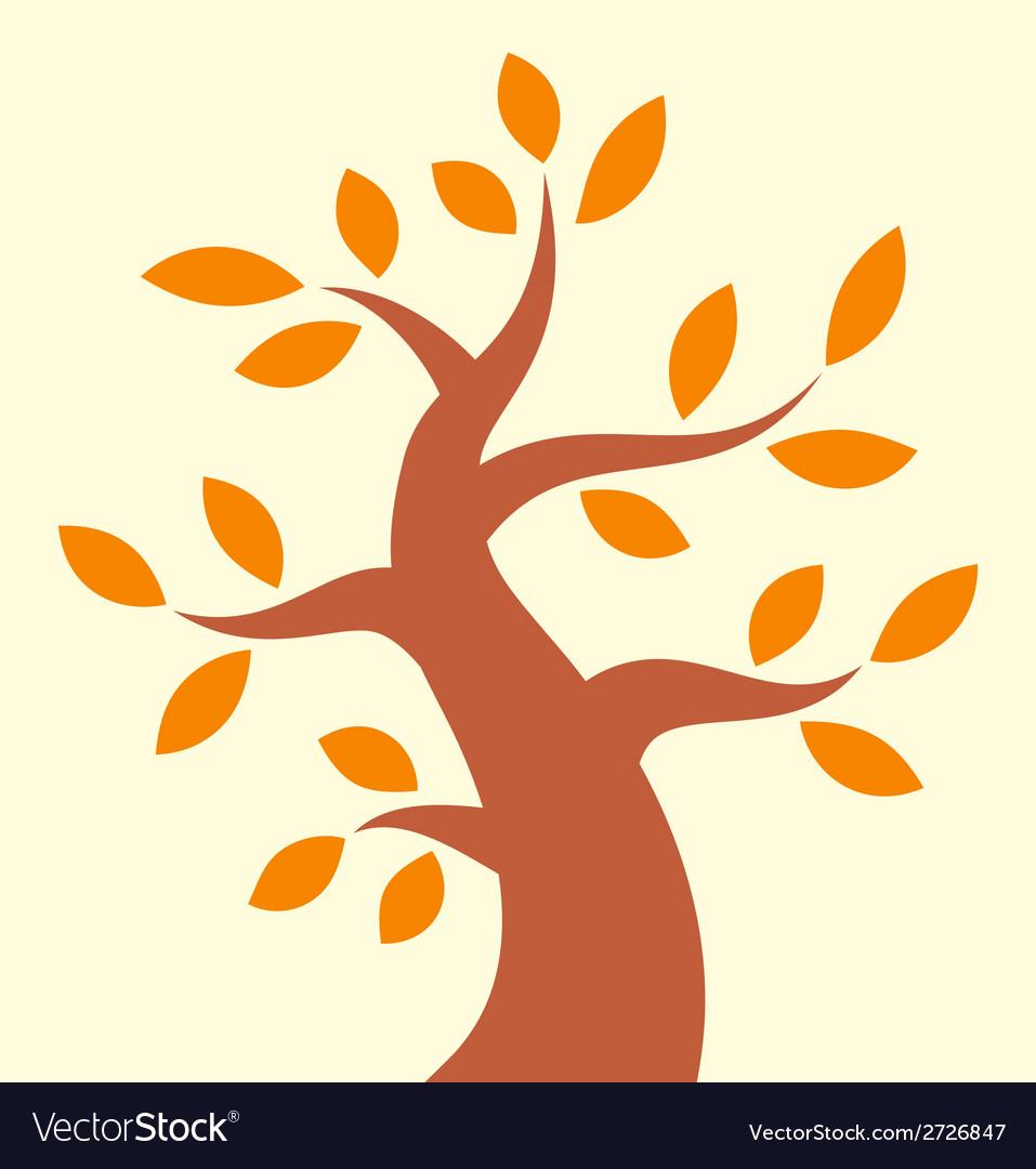 Autumn tree icon vector | Price: 1 Credit (USD $1)