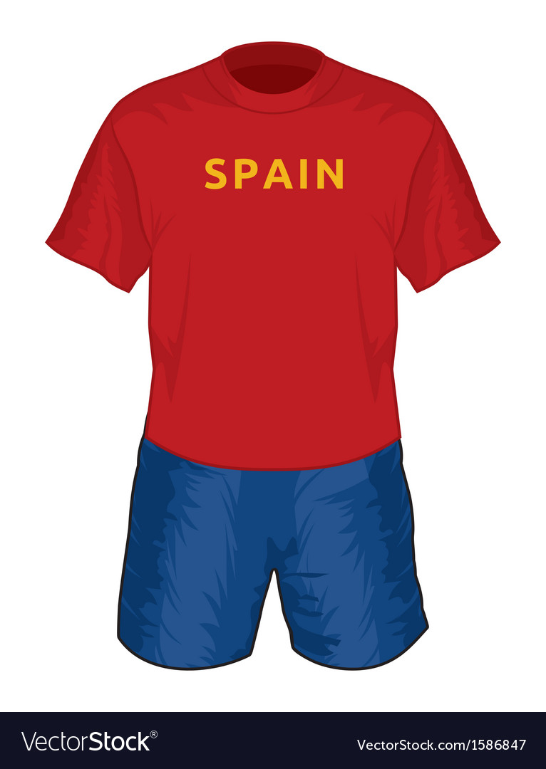 Spain dres resize vector | Price: 1 Credit (USD $1)