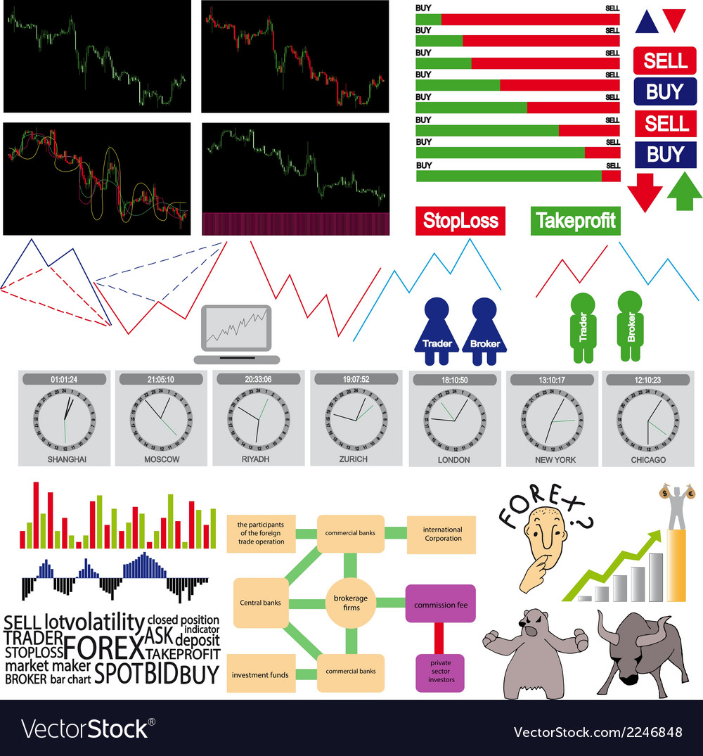 Infographics forex vector | Price: 1 Credit (USD $1)