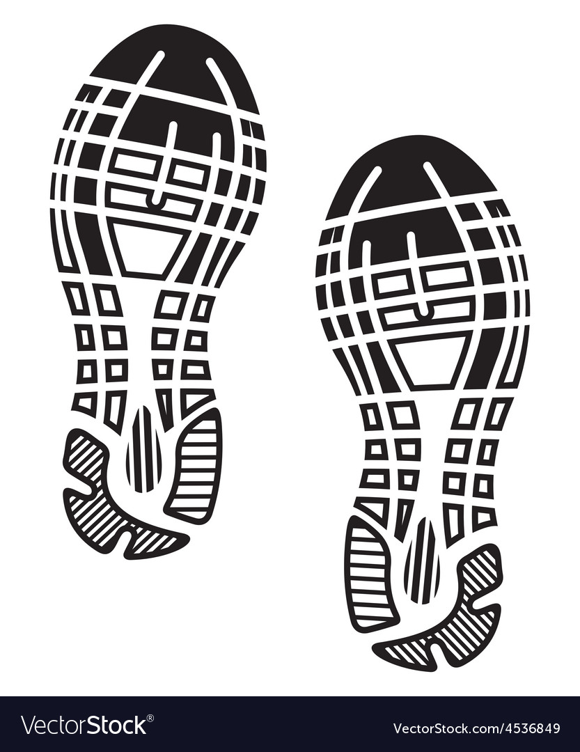 Footprint1 resize vector | Price: 1 Credit (USD $1)