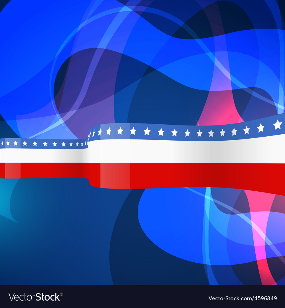 Usa design background vector | Price: 1 Credit (USD $1)