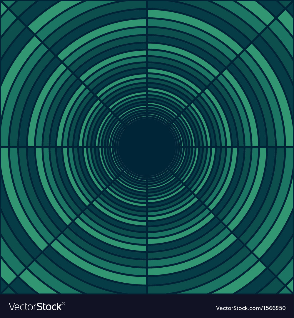 Abstract deep tube light at end of tunnel vector | Price: 1 Credit (USD $1)