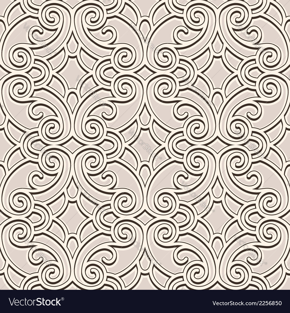 Beige seamless pattern vector | Price: 1 Credit (USD $1)