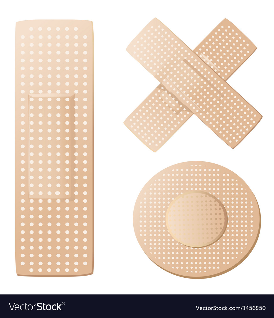 Plasters vector | Price: 1 Credit (USD $1)